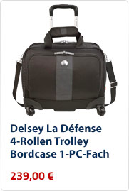 Delsey-La-Defense-4-Rollen-Trolley-Bordcase-1-PC-Fach
